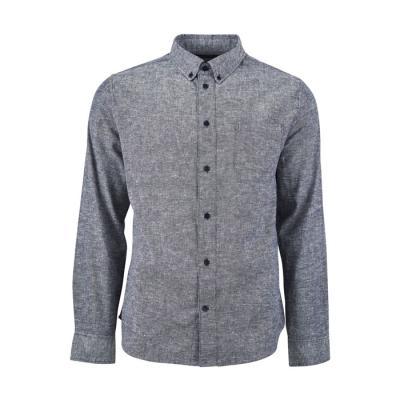 [유나이티드바이블루] 맨스 버튼 다운 셔츠 미드나잇