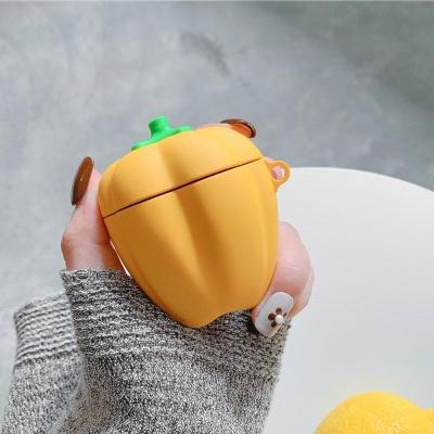 에어팟1/2 차이팟 야채 실리콘 케이스 263 노란피망