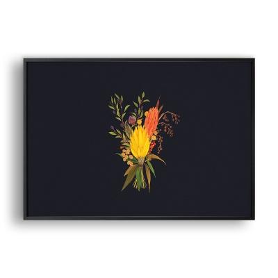 가을 꽃다발 / 일러스트 액자
