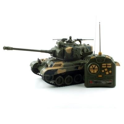 1/18 US M26 BB탄 슈팅탱크 퍼싱전차 무선모형 RC (YAK115011CA)