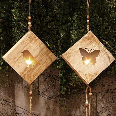 핸드메이드 LED펜던트 벽걸이 무드등 취침등 새와나비