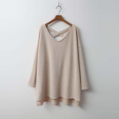 X V-Neck Boxy Mini Dress