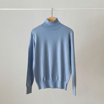 Wool Basic Turtleneck Sweater