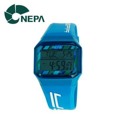 네파 남녀공용 아웃도어 디지털 시계 N213-BLUE 블루