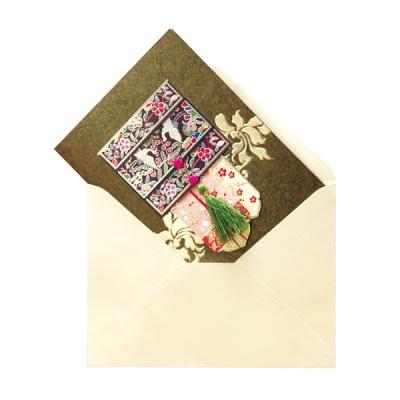 학 매듭카드 FT3005-3