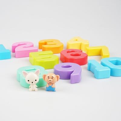 숫자 저울 유아 수학 교구 즐거운 숫자놀이 피그