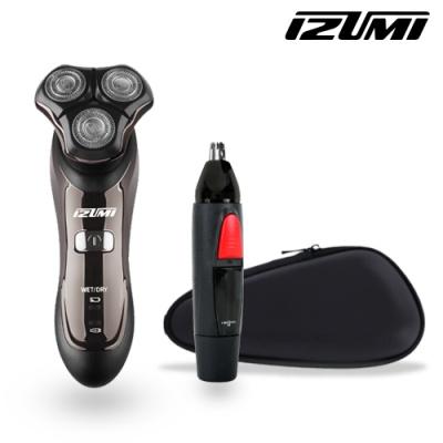 이즈미 3중날 방수 전기 면도기 IKR-5200 + 사은품