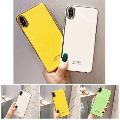 아이폰se2 xr xs max 8 7+ 블링블링 컬러 젤리 케이스