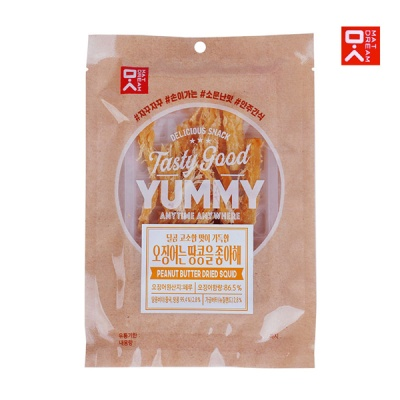 [MAT DREAM] 쫄깃 감칠맛 땅콩버터맛오징어 30gx3봉