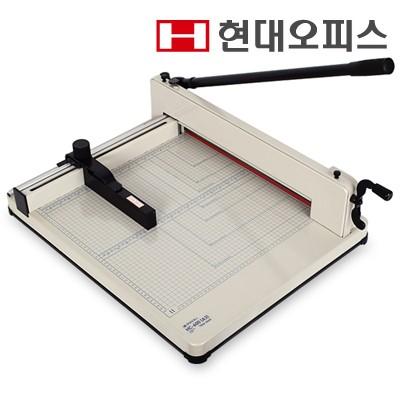 대용량 작두형 재단기 HC-600(A3) 1회 최대 400매