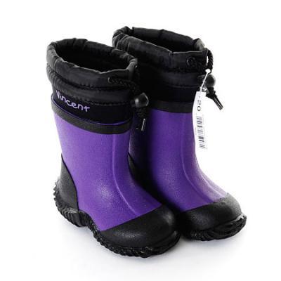 [빈센트] Lorenz - Purple 스웨덴 유아동 부츠