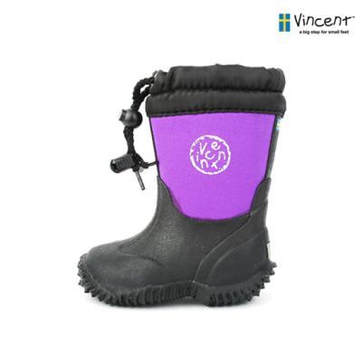 [빈센트] Algot-Purple 스웨덴 유아동 부츠