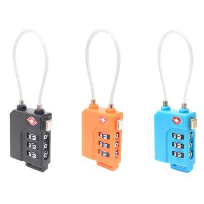 [티큐브] TSA 케이블 3다이얼 안전자물쇠