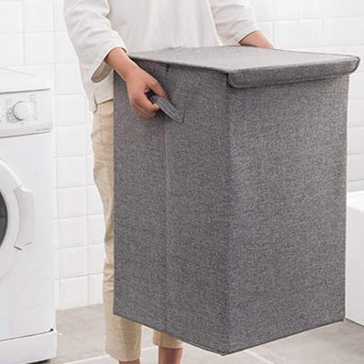 패브릭 빨래 세탁물 세탁 통 바구니 햄퍼 (소형)