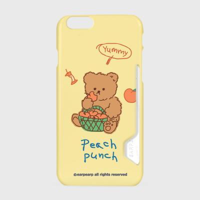 Peach punch-yellow(카드수납케이스)