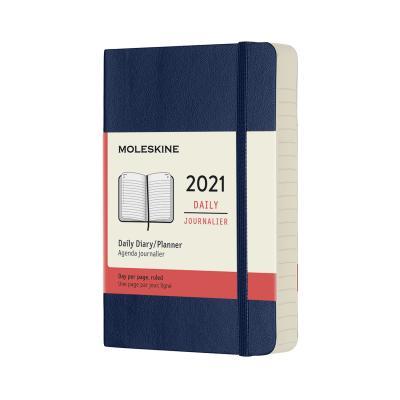 몰스킨 2021데일리/사파이어블루 소프트 P