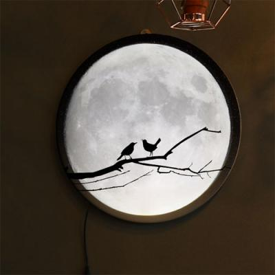 no155-LED액자35R_밤하늘보름달