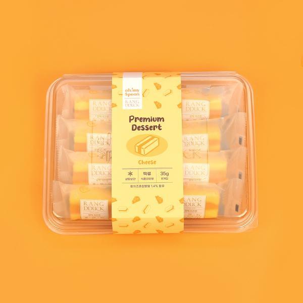 오마이스푼 랑떡 치즈맛 35g x 8개입/온가족 디저트
