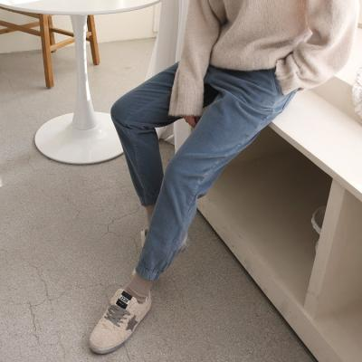 Corduroy Jogger Pants - 기모안감
