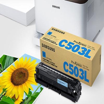 삼성 정품 토너 CLT-C503L 파랑 토너