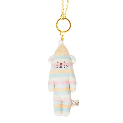 크래프트홀릭 Fluffy INUKUN KEY RING