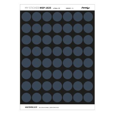 폼텍 마이스티커 프린트 전용 라벨 18 네이비 25mm