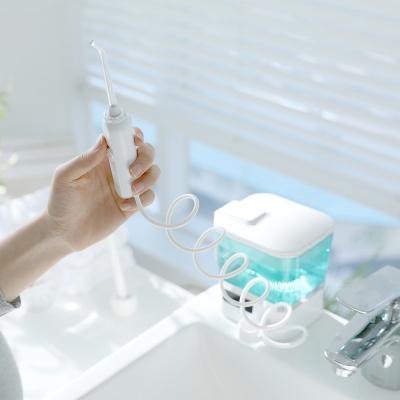 [무아스]스마일케어 휴대용 + 대용량 구강세정기 세트
