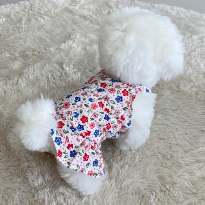 강아지 옷 나시 예쁜 귀여운 치마 고양이 pe-3 이지
