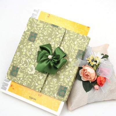 책 포장/버들잎