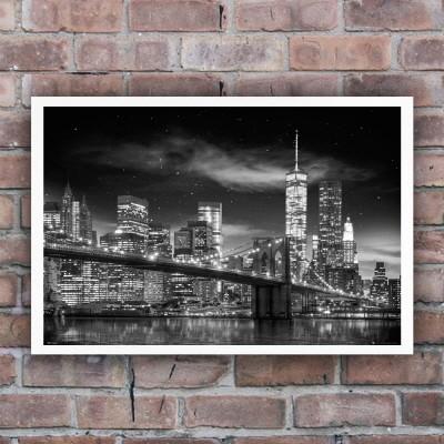 160237 New York Freedom Tower at Night 뉴욕 프리덤 나이트