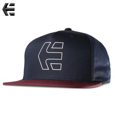 [ETNIES] ICON 7 SNAPBACK HAT (NAVY/RED)
