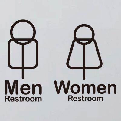 생활스티커_픽토그램 화장실 남녀