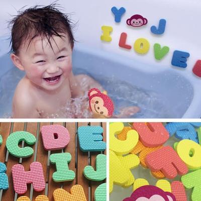베베포레 물놀이 스티커 목욕놀이 (알파벳)
