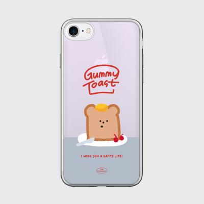 gummy toast 글로시미러케이스