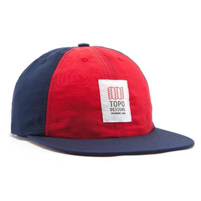 토포디자인 NYLON BALL CAP RED/NAVY TDNBC015