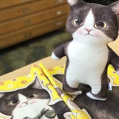 고양이삼촌 DIY커트지 `죠스` (65X45cm, L사이즈)