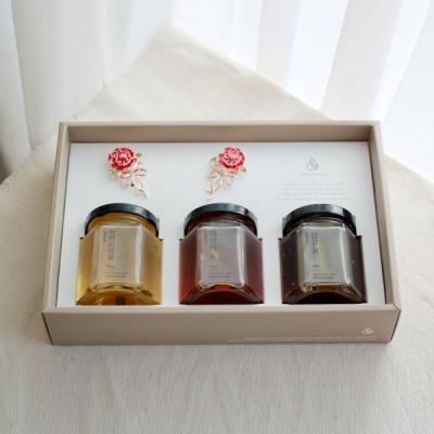 [카네이션] 천연꿀 3종 선물세트