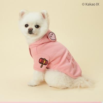 카카오프렌즈 댕댕이 방울후드 강아지옷