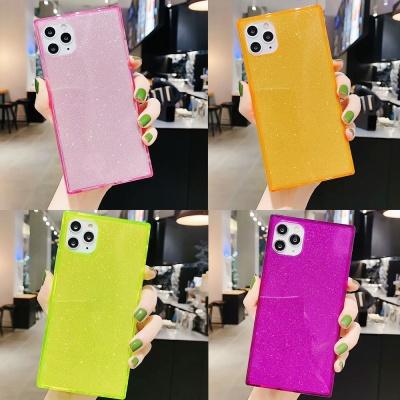 갤럭시s10/s10e/플러스 형광젤리 사각 핸드폰케이스