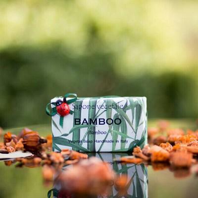 알키미아 천연수제비누 - 뱀부(BAMBOO) 은은하고 내추럴한 향 무당벌레비누