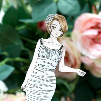 [기성]종이인형리사의 웨딩마치