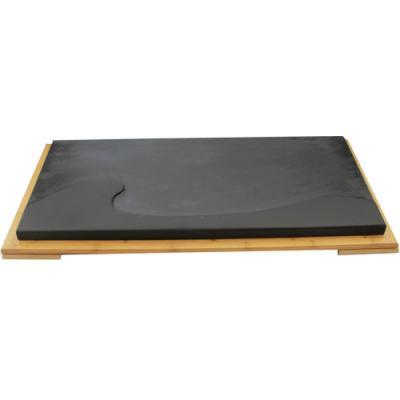 [돌차판]파도 오금석 돌차판(약 75 x 35.5 x 3)