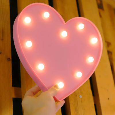 LED 앵두전구 조명등 (하트 핑크)