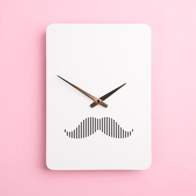 (ktk145)저소음 북유럽벽시계(신사)