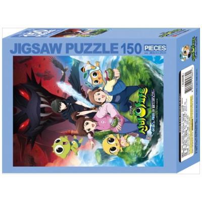 신비극장판 요르문간드 직소퍼즐 150pcs