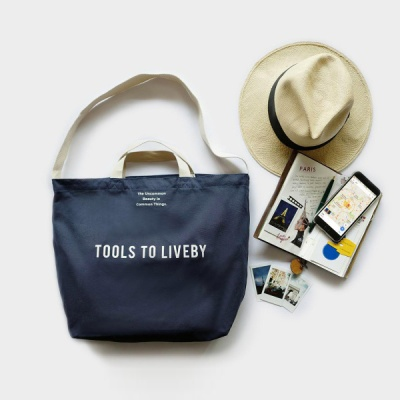 [TOOLS TO LIVEBY] TOTE BAG BLUE (캔버스가방) L