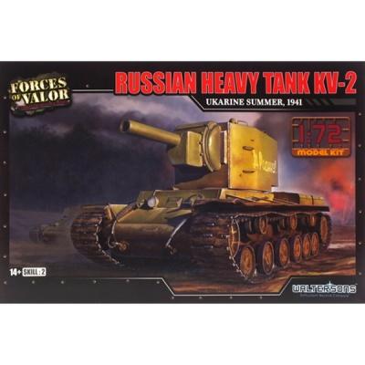러시아 KV-2 중전차 조립킷 1941 (WTS101575KIT)  Heavy tank KV-2