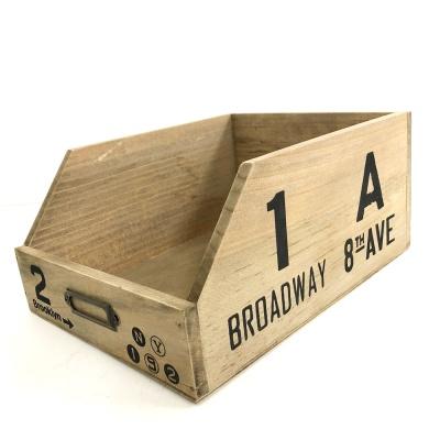 브로드웨이 서랍 라벨 박스