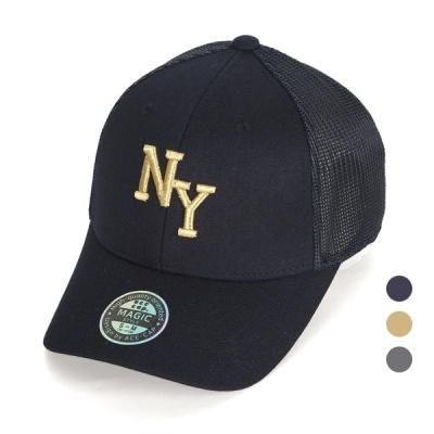 [디꾸보]투사이즈 NY 자수 메쉬 볼캡 야구모자 AC635
