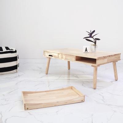 [벤트리] 원목 테이블&베드트레이